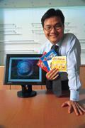 ■劉雙華靠手中「加值」過的光碟片,創造龐大的獲利機制。今年每股盈餘挑戰8元。