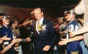安麗總裁狄克.狄維士將眼光同時放在中港台三地。