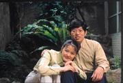鄭政繁(右)投資中華安富基金達10年多,投資報酬率41.3%,賺了38萬元。這筆錢成為他的結婚基金。(左為未婚妻王素珍)