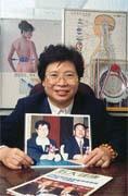 簡意鴻在日健這個人生大道場上修行、傳道。