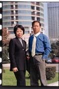 當年,葉惠德(右)要進軍大陸,連太太李清燕(左)都反對。