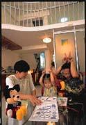 林榮煌一家3口,不僅在新窩裡重拾居家之樂,且住家緊鄰中研院,學術氣息濃郁,也是讓小孩成長的首善之地。