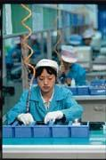 勞力密集產業移往大陸已是極明顯的趨勢。