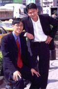 張天誌(左)與陳宇(右)做電子商務要讓顧客所有網上行為都受到「獎勵」。