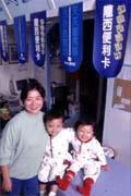 既有穩定的收入又能兼顧家庭,是江怡蓉選擇加盟洗衣連鎖店的主因。