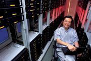 劉家雍在北京說部屬兩句,沒幾分鐘,消息已傳遍趨勢大中華1,200個員工。