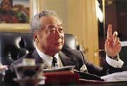 辜濂松認為現在「戒急用忍」政策已不適用。