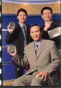 王演芳(前)期許協和國際能成為國內最大的PDA通路商。
