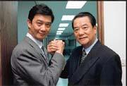 陳武雄(右)和陳奕雄(左)要帶領和桐集團跨足生技業。
