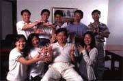 群益投信林祁明(前排中):紮實的研究報告與持股信心,是群益基金的制勝秘訣。