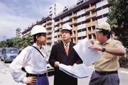 ■劉培森(圖中)是建築博士、也是王永慶的女婿,他強調巨蛋風暴導火線只有一個,就是理念之爭。