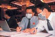 在台積電要求下,分析師全部戴上口罩,讓台積電法說成為最安全的法說會。
