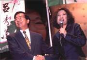 很多企業界人士都樂於掏腰包「投資」陳水扁(左)和陳文茜(右)。
