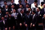 「政治是高明的騙術」已深植台灣民眾心中。