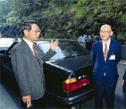 呂學樟(左)與林淵源(右):執政黨收編手段「實在太可怕了」。