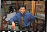 在成功的女性專業經理人陳素貞背後陪她走過20年光陰的,是她的先生林錫煌。