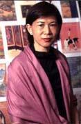 受地震影響,作品成交金額可能不如預期,但台灣蘇富比仍如期舉辦拍賣會(圖為台灣蘇富比董事長胡瑞)。