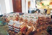 全新別墅拍賣會上由陳飛龍的女兒親自壓陣,依舊無法開出紅盤。