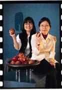 冉龍華(右)、王懿行(左)得到中華電信標案後,更具企圖心。
