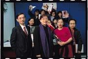 《儂儂》與法國《美麗佳人》合資,發行新的《美麗佳人》中文版(左起葉君超、儂儂集團董事長吳麗萍、楊玟)。