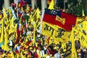 台北縣劃為三個選區,恐將形成新黨「自相殘殺」的局面。
