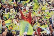 台灣人對總統的信任度不如鄰居