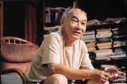 目前致力人權運動的黃文雄,滄桑的臉上仍有當年的豪氣。