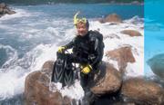 孫大明(53歲,摩托羅拉台灣區總裁) 他滑雪、玩風浪板、激流泛舟、激流划獨木舟、潛水
