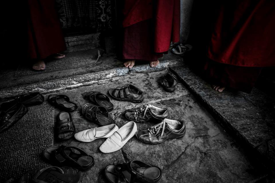 朋友的鞋與修道者的腳