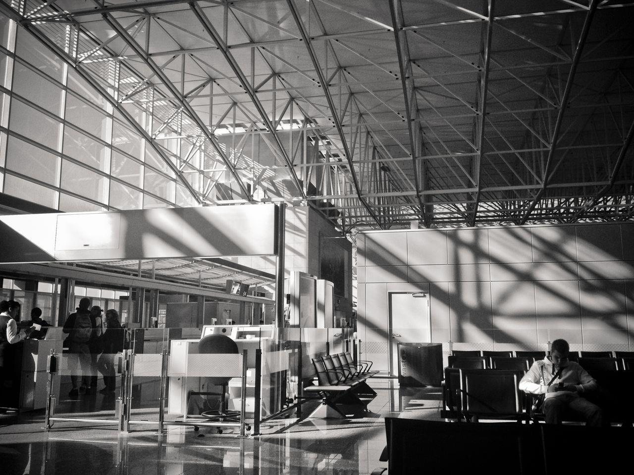 法蘭克福機場的一角