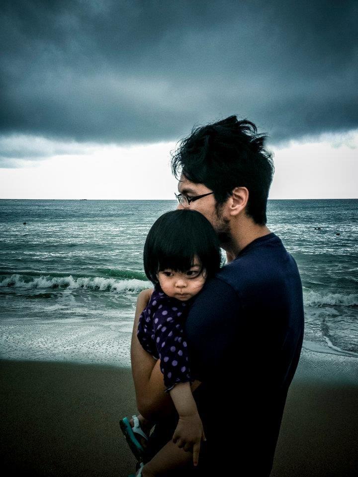 每個爸爸都希望當女兒的超人
