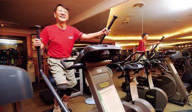 ▲星展銀行台灣區總座陳亮丞一週健身三次變出「二十六小時人生」