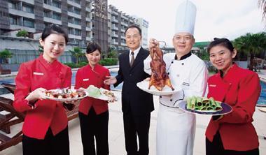 一隻鴨,改變一家五星級飯店的命運。