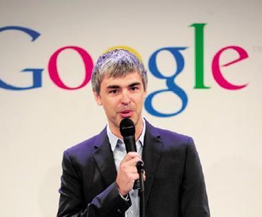 谷歌創辦人賴瑞‧ 佩吉(圖)兩年前重當執行長,又重整高層人事,在在顯示強烈企圖心。