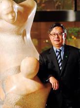 國泰證董事長朱士廷( 圖) 帶兵方式迥異同行,精選客戶輔導上市,短時間就打出好成績。