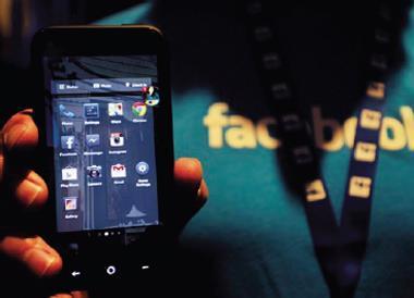 臉書推出Home瞄準手機,一旦下載,每日用戶在手機瀏覽臉書次數將從2位數升至3位數,快速把手機變自家領土。