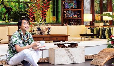 新圓山診所總經理、景觀設計師 藍米克