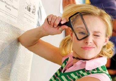 《偵探小天后》搶錢成功,激勵許多走小眾市場的創意團隊。圖為該劇女主角劇照。