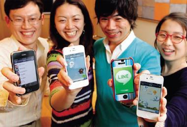 傳簡訊、打電話、可愛貼圖與表情符號,已經是即時通訊軟體的基本配備,今年各服務業者都表示,已到差異化的時候了。