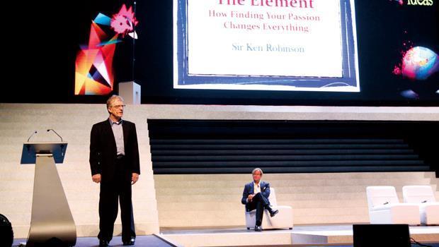 羅賓森找到自己的天賦,藉由公開演說把經驗分享給全球讀者。