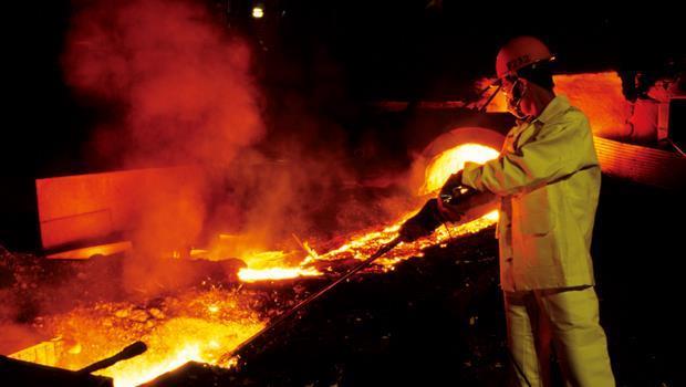 鋼鐵業現有的生產模式(圖),將因頁岩氣而改變,運用得當可降低生產成本。