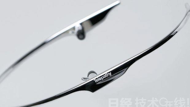 日本出現與「Google Glass」抗衡的產品 - 商業周刊
