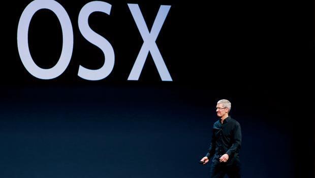 庫克( 圖) 一口氣更新了PC 與手機作業系統OS X 與iOS 7,目的很可能是在幫未來的新裝置鋪路。