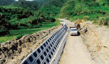 整治工程為拓寬河道而砍樹