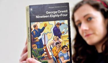寓言小說《1984》因稜鏡案翻紅,銷量成長近百倍。