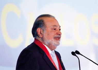 全球首富、墨西哥電信大亨史林在投資記者會上表示,盼「音樂雷達」為消費者和品牌商提供更高附加價值。
