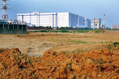 近兩年北台灣工業用地少則漲了2成,幅度大的漲到100%都有,顯見炒地歪風盛行。圖為苗栗竹科4期。