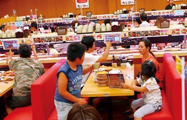 日本首家營收破千億日圓的壽司業者「壽司郎」