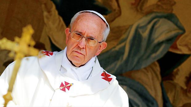 教宗方濟各(圖),八月初頒布手諭加強反洗錢管制與遏止資本恐怖主義。