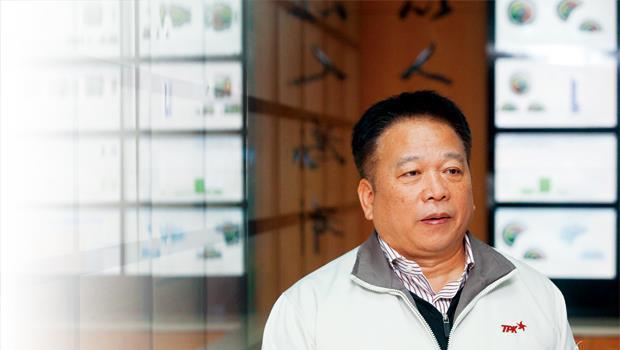 宸鴻董事長江朝瑞(圖)正遭遇技術高,客戶卻不埋單的困境,顯示產業競爭焦點轉移,總是快得令人措手不及。